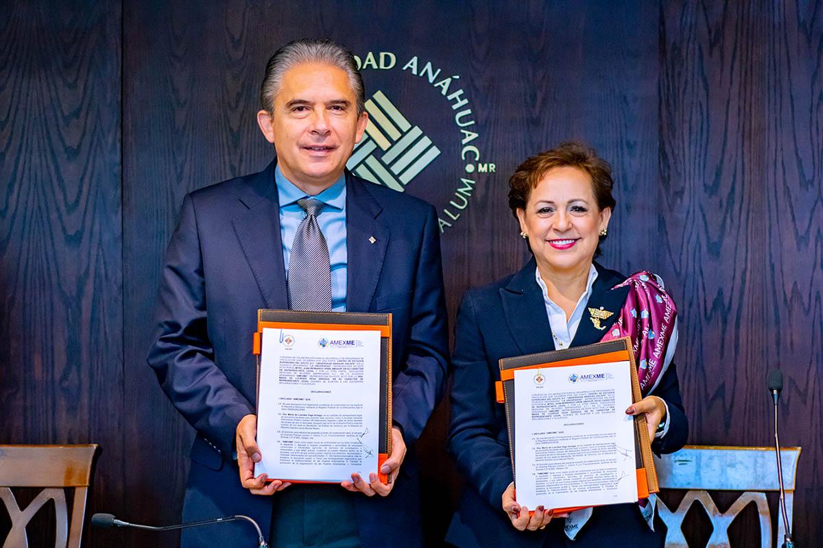 5 / 7 - Propiciamos el Desarrollo Empresarial mediante la Firma del Convenio con la AMEXME, Capítulo Xalapa
