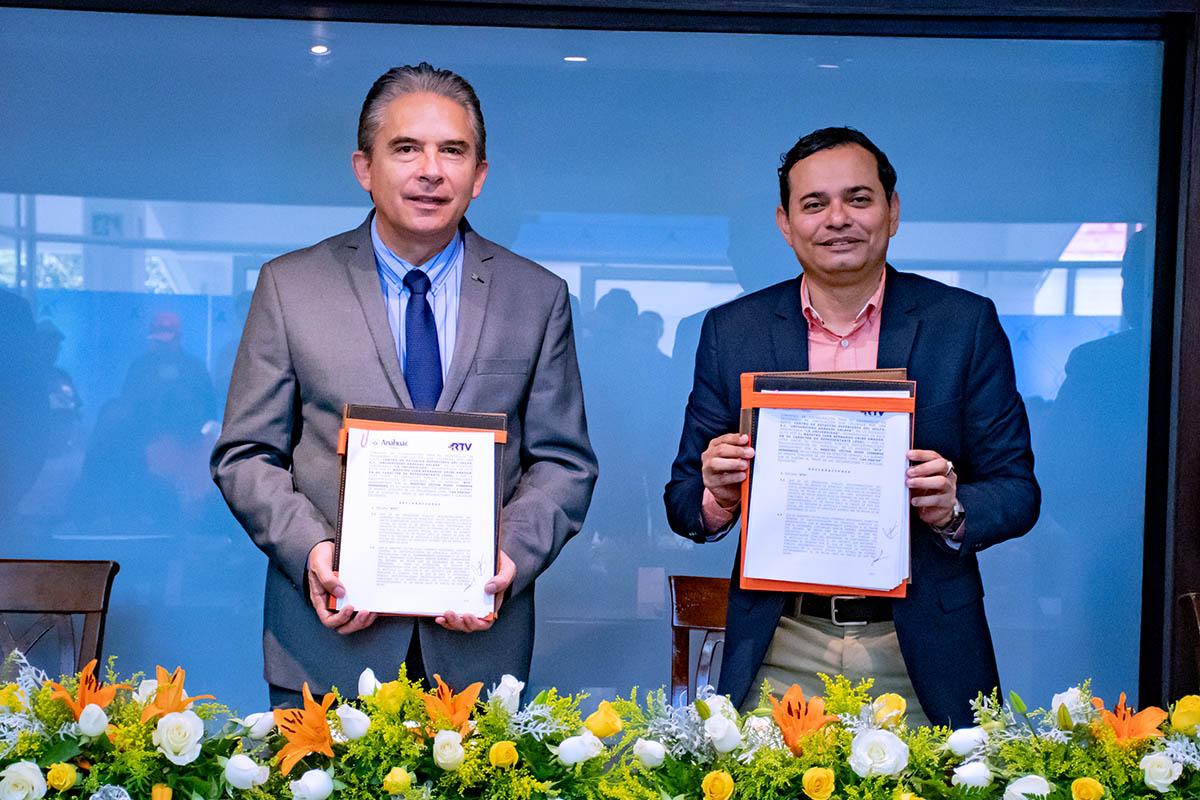 3 / 6 - Convenio de vinculación y colaboración con RTV.