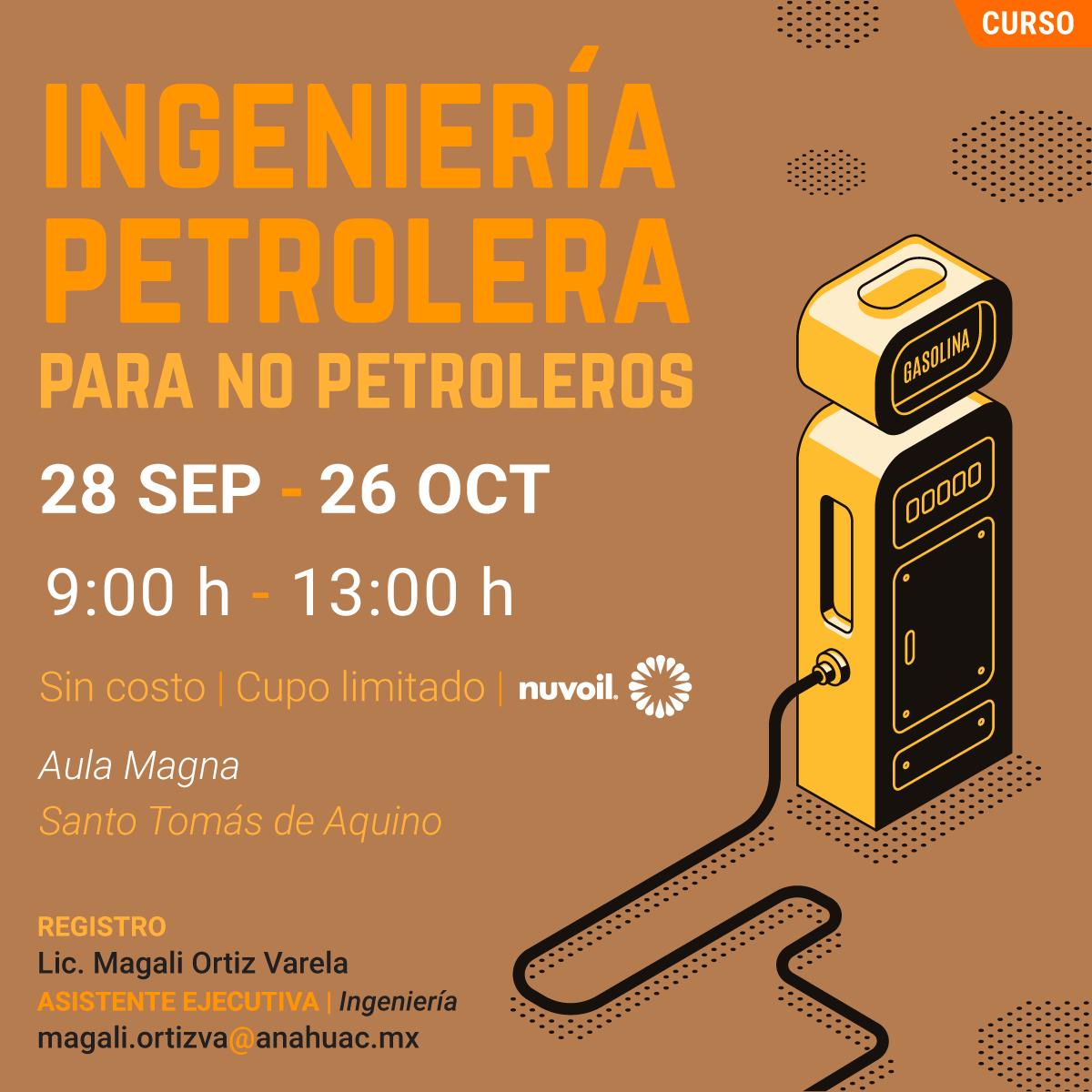 Ingeniería Petrolera para no Petroleros