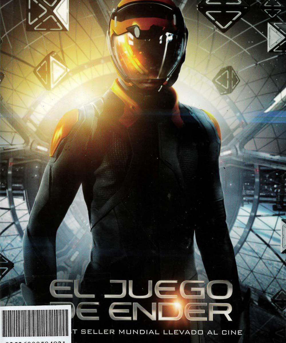 PS3553.A655 C37  El juego de Ender, Orson Scott Card - Grupo zeta, España 2013