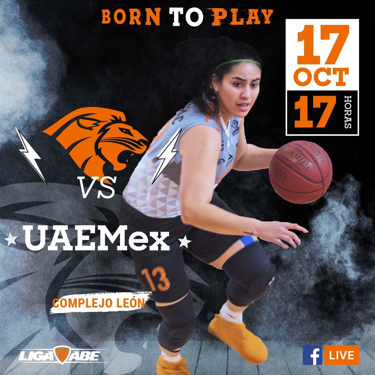 Básquetbol Femenil ABE: Leonas vs UAEMex