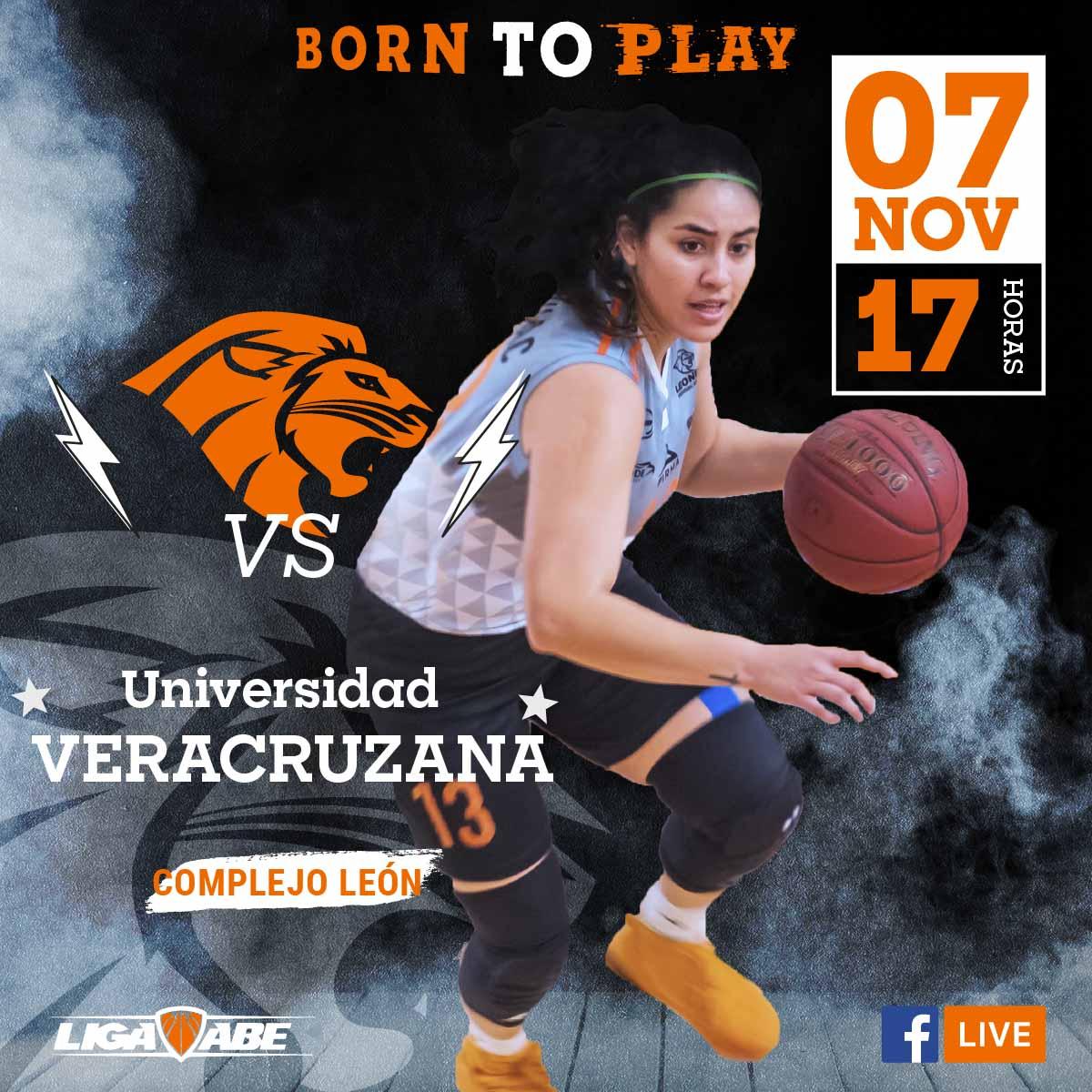 Básquetbol Femenil ABE: Leonas VS Universidad Veracruzana