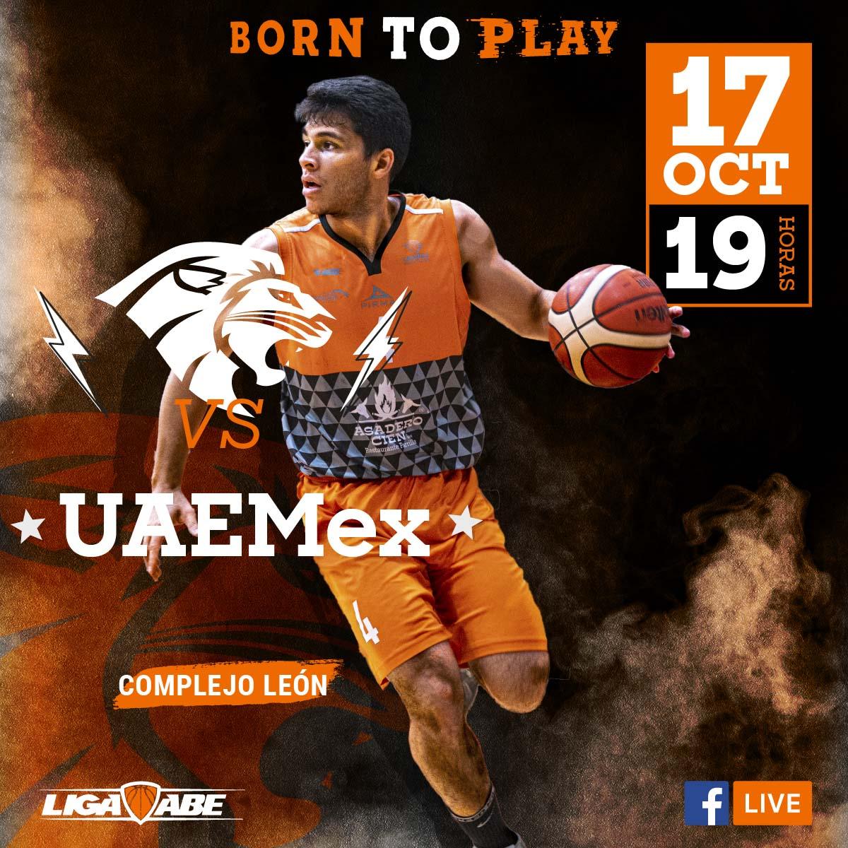 Básquetbol Varonil ABE: Leones vs UAEMex