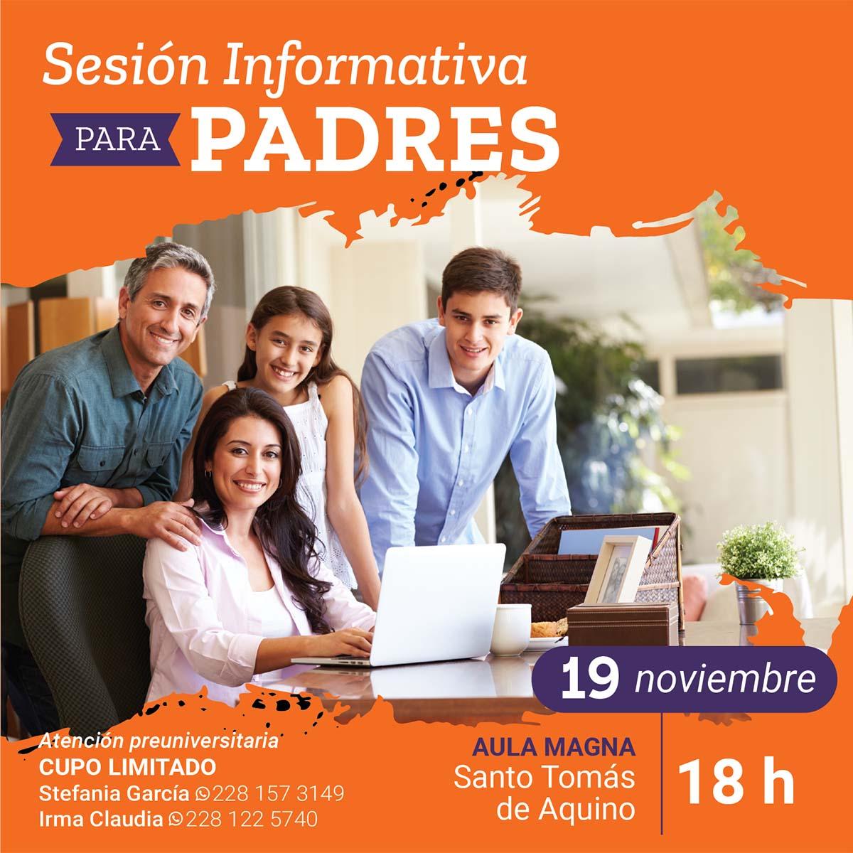 Sesión Informativa para Padres