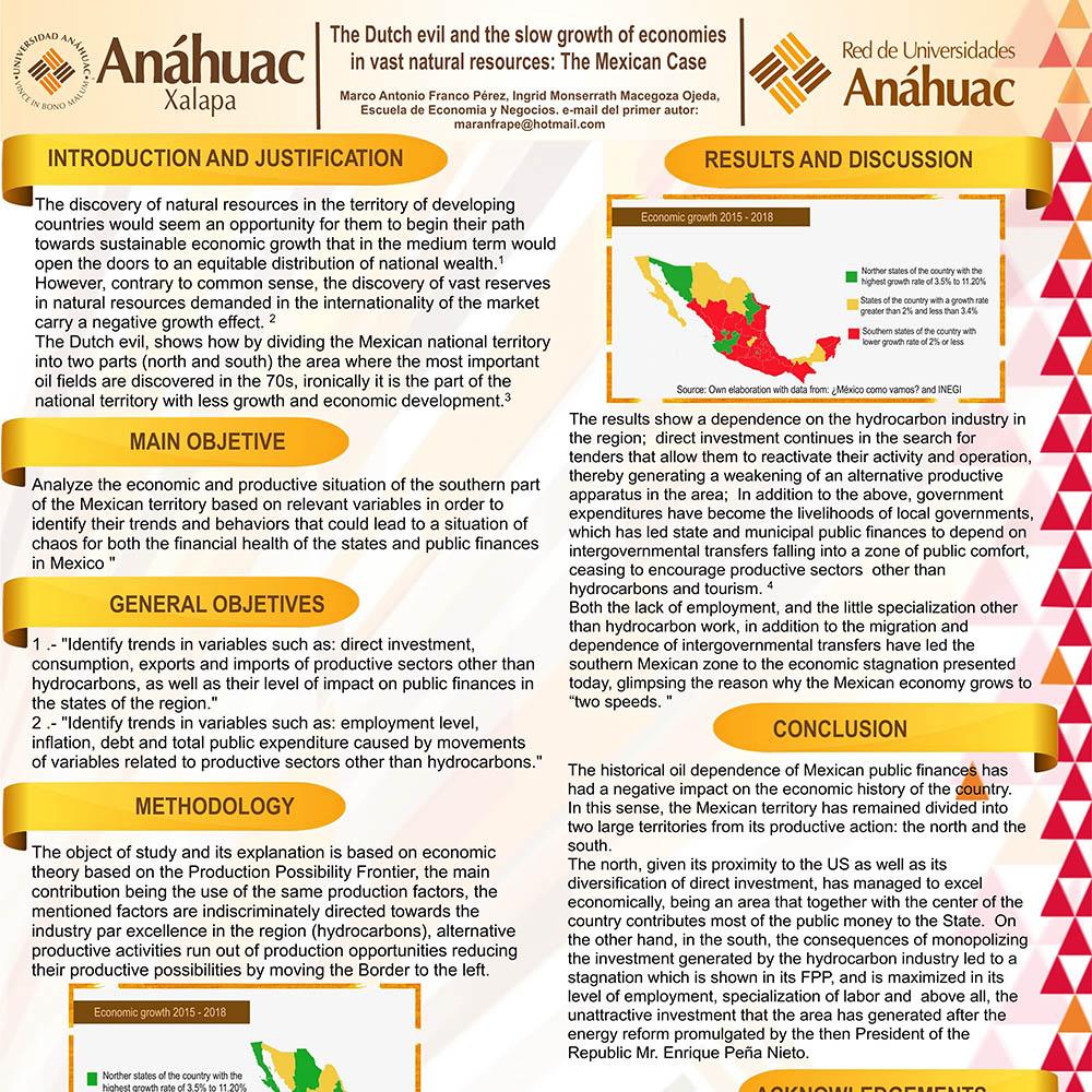 Destacada Participación en el XIV Concurso de Carteles de Investigación Anáhuac Mayab