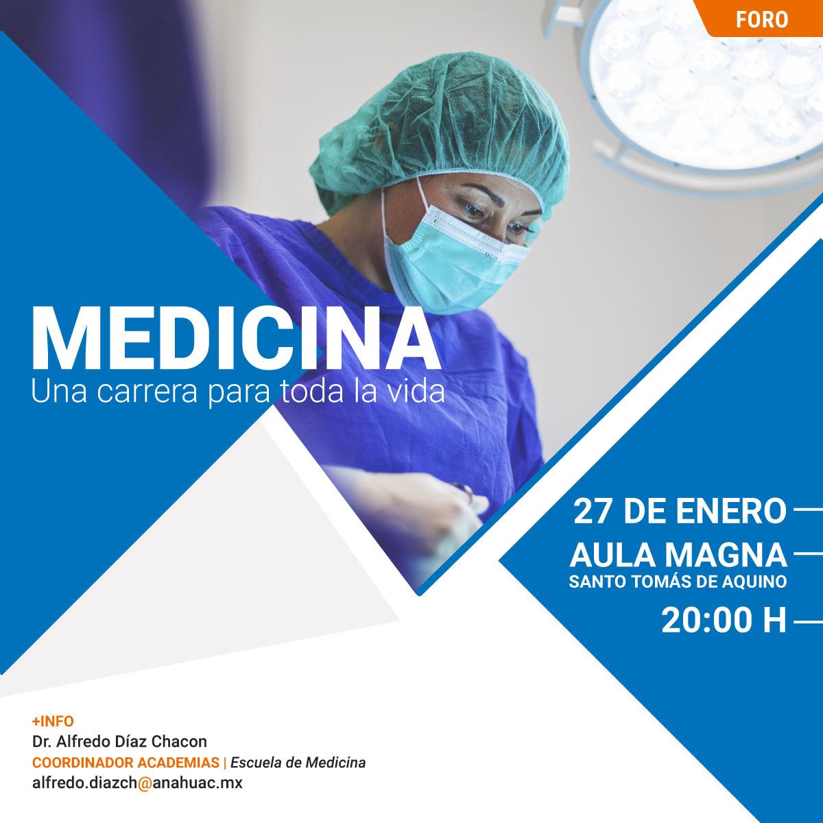 Medicina: una Carrera para toda la Vida