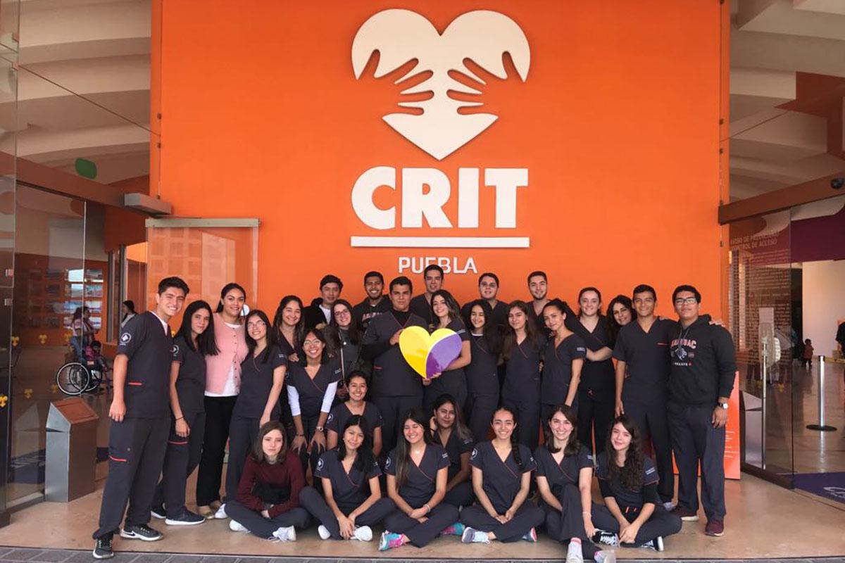 1 / 5 - Visita de Terapia Física y Rehabilitación al CRIT Puebla