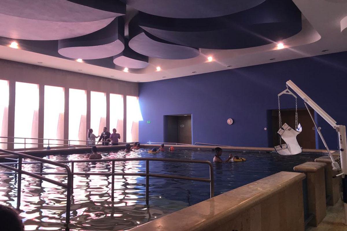 3 / 5 - Visita de Terapia Física y Rehabilitación al CRIT Puebla