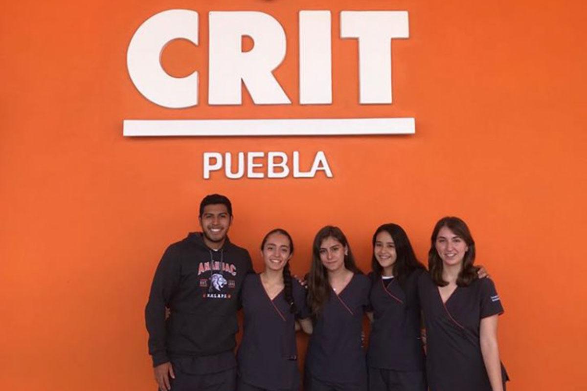 5 / 5 - Visita de Terapia Física y Rehabilitación al CRIT Puebla