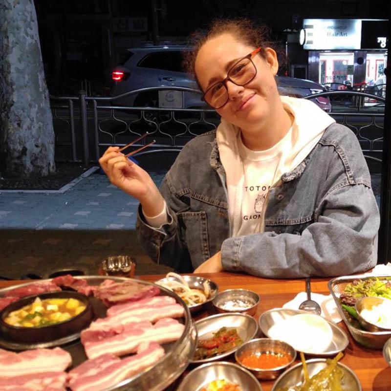 8 / 8 - Alumna de Ingeniería Mecatrónica de Intercambio en Corea del Sur
