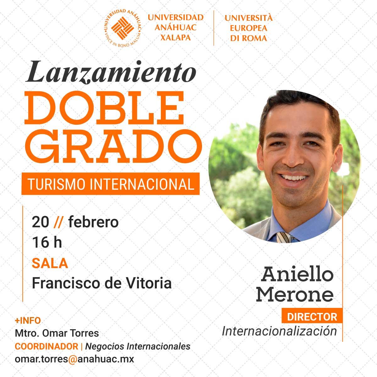 Lanzamiento del Doble Grado de Turismo Internacional
