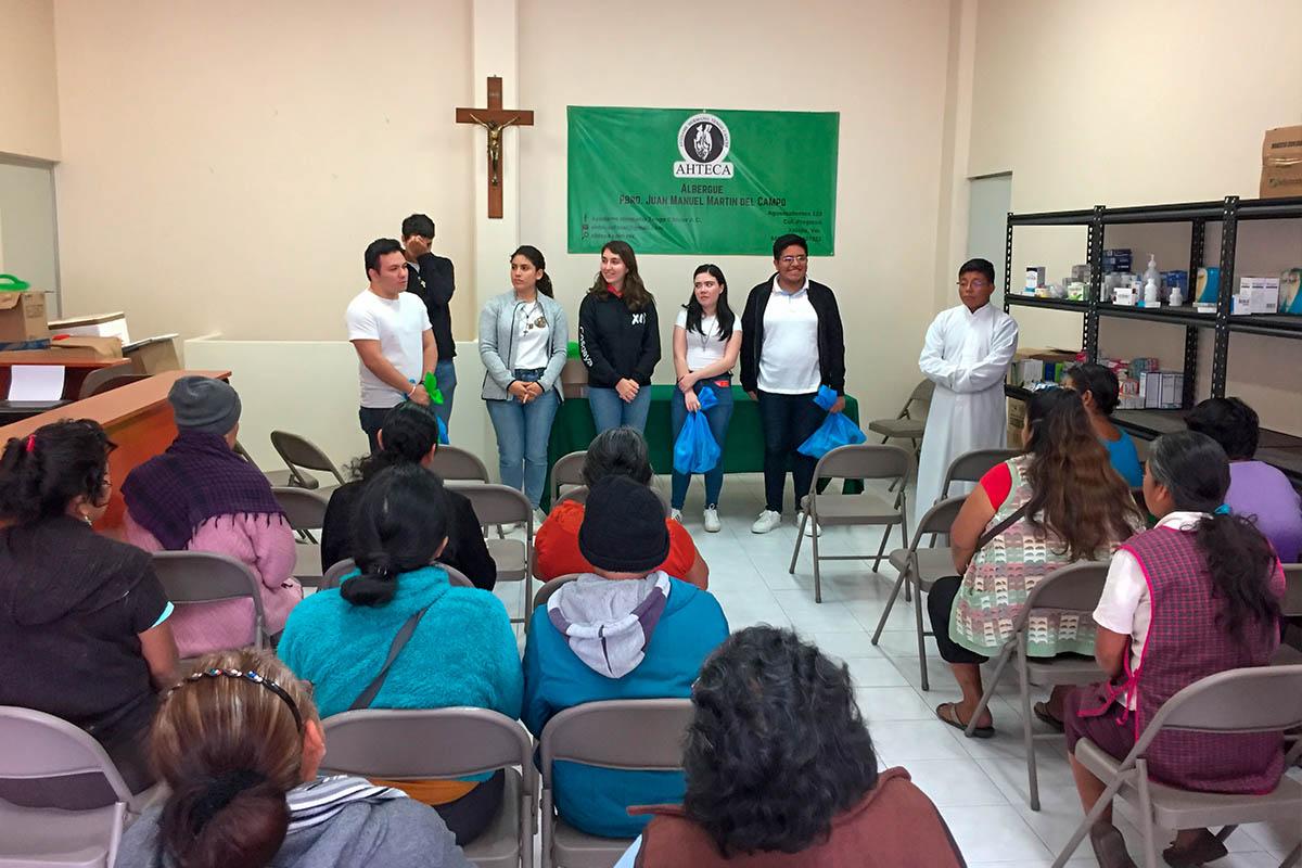 5 / 6 - Grupo Gaudium en Misión Urbana en el CECAN y AHTECA