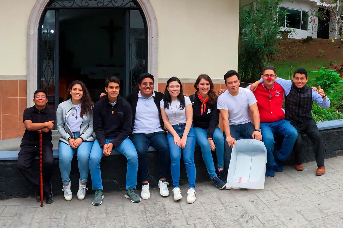 6 / 6 - Grupo Gaudium en Misión Urbana en el CECAN y AHTECA