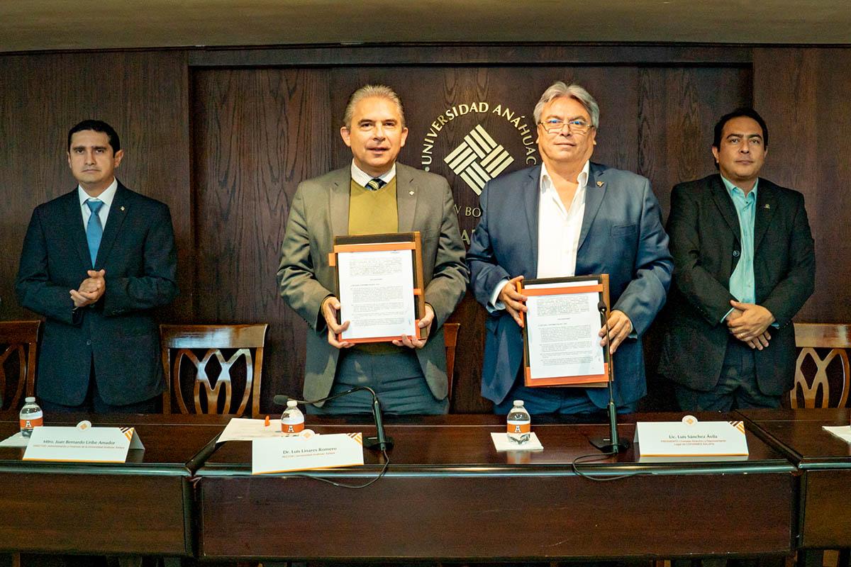 3 / 5 - Renovación del Convenio con COPARMEX Xalapa