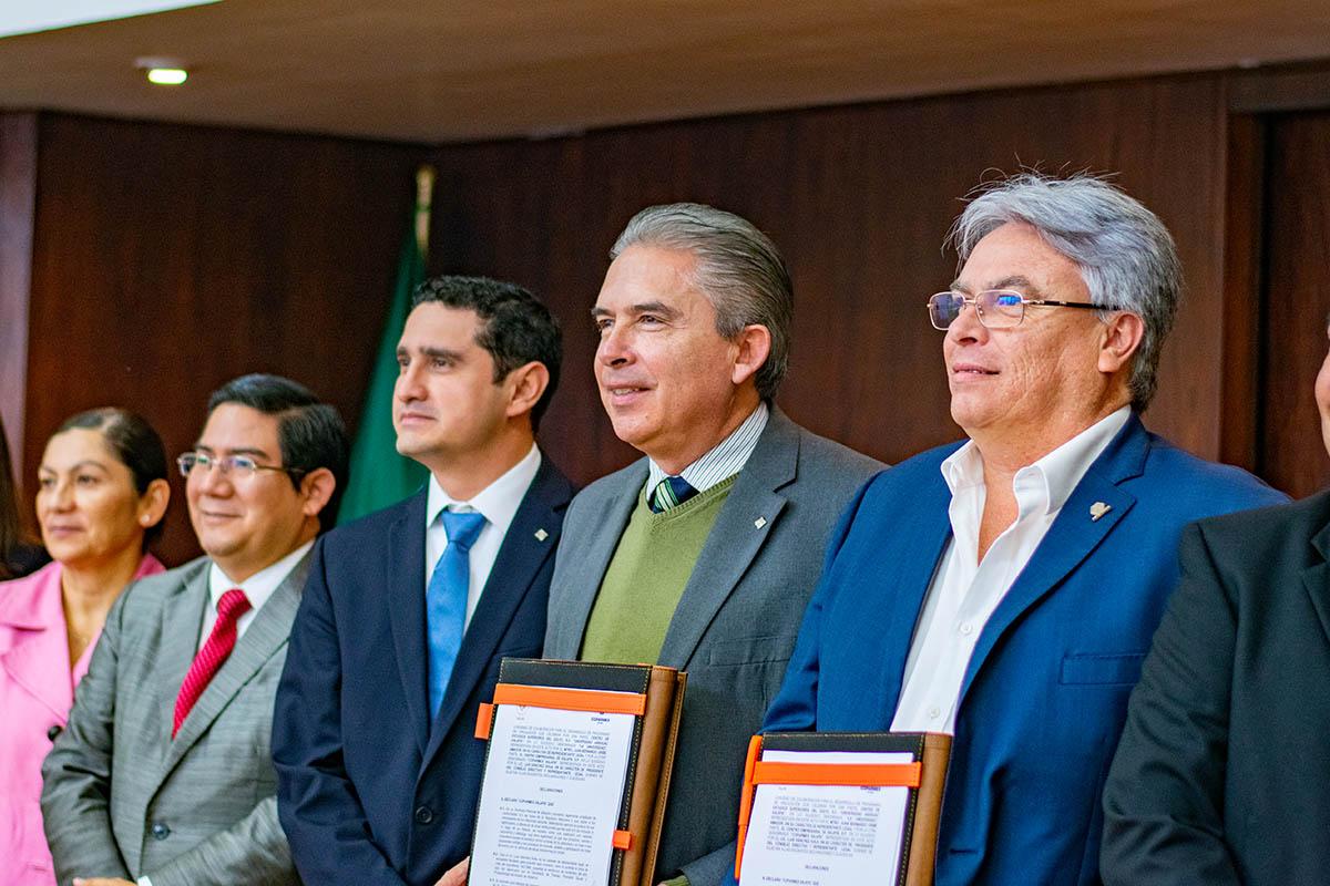 5 / 5 - Renovación del Convenio con COPARMEX Xalapa
