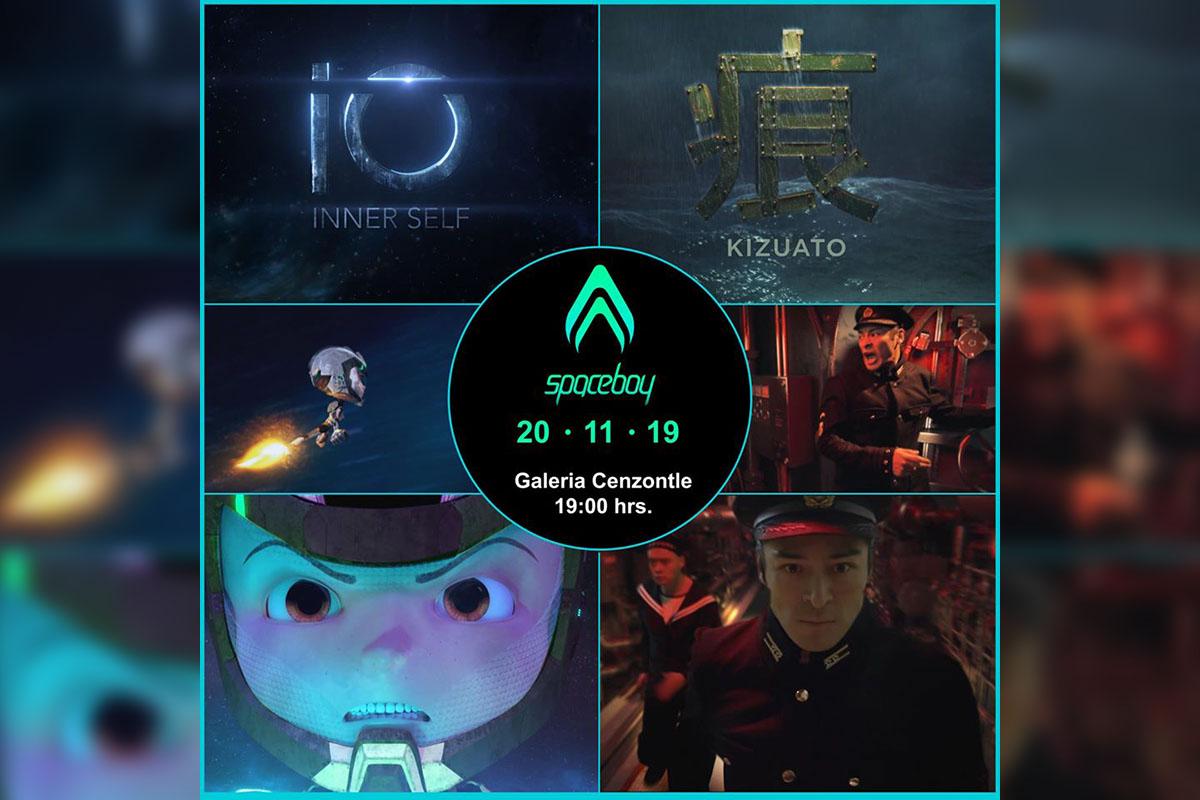 2 / 9 - Colaboración de Ingeniería en Animación Digital con el Estudio Mexicano SPACEBOY