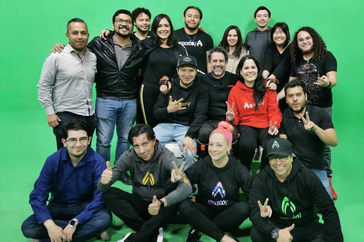 6 / 9 - Colaboración de Ingeniería en Animación Digital con el Estudio Mexicano SPACEBOY