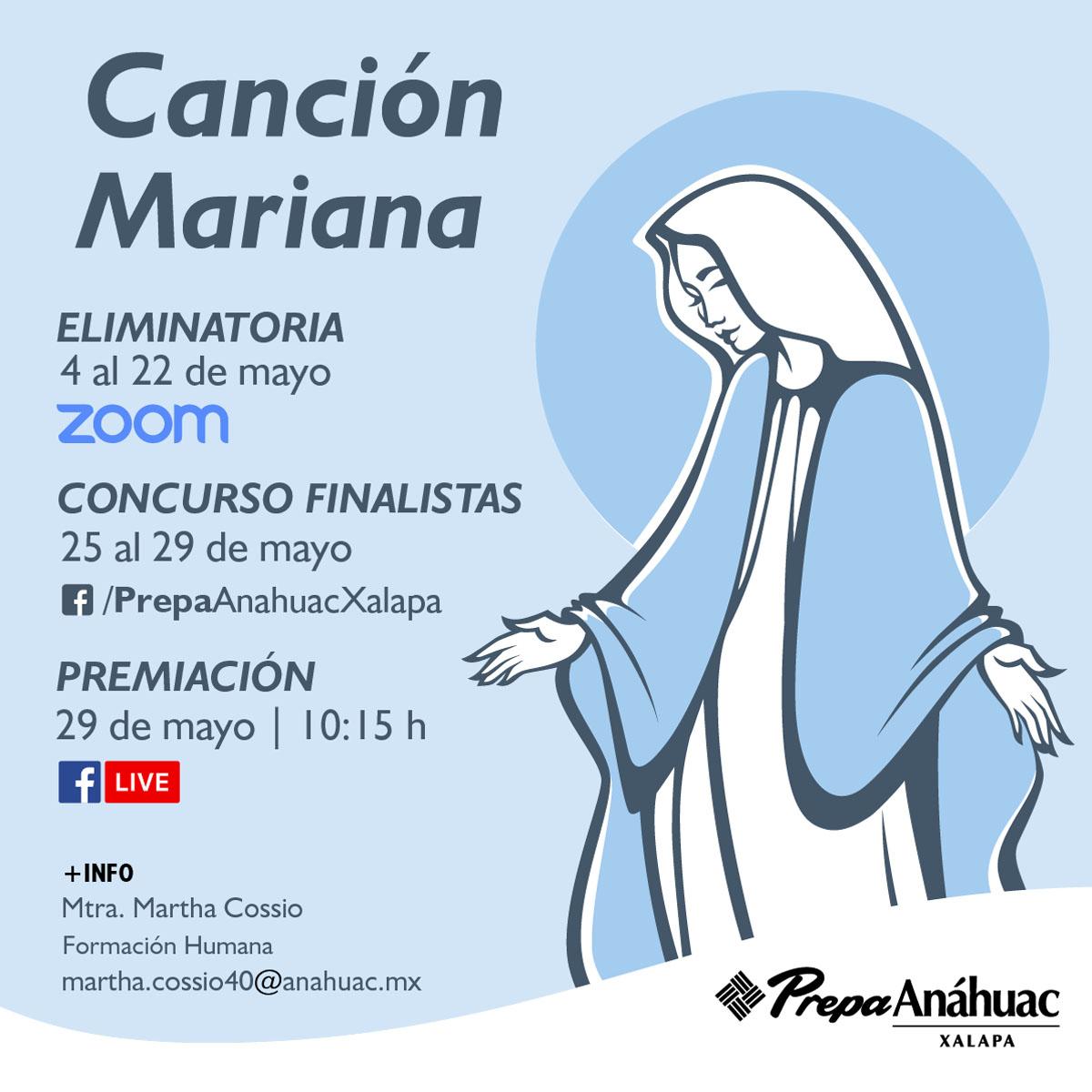 Concurso Canción Mariana