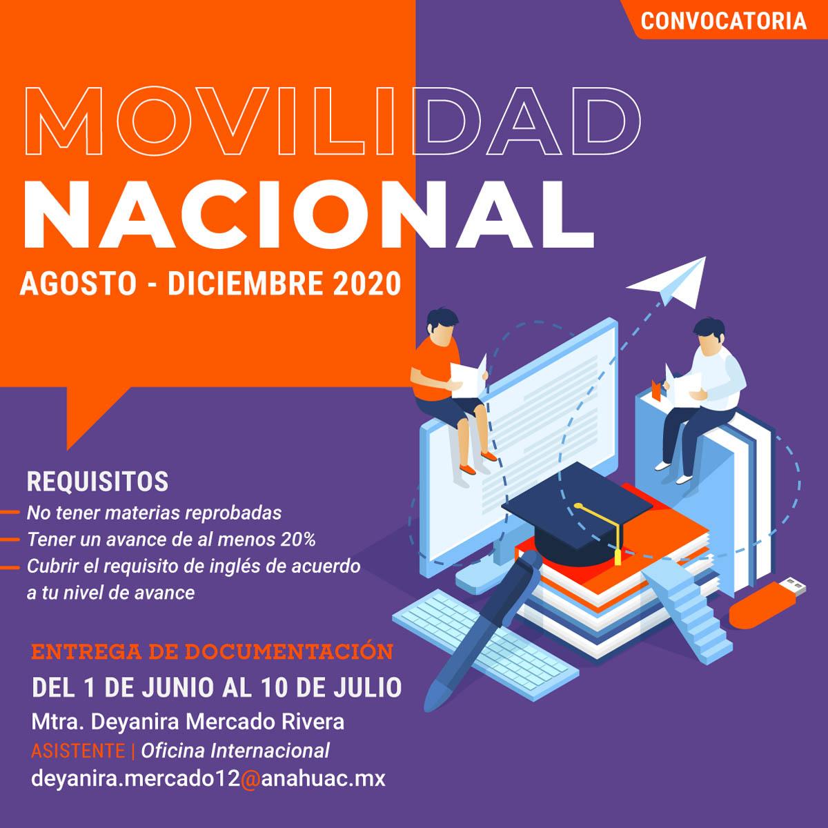 Movilidad Nacional Agosto-Diciembre 2020