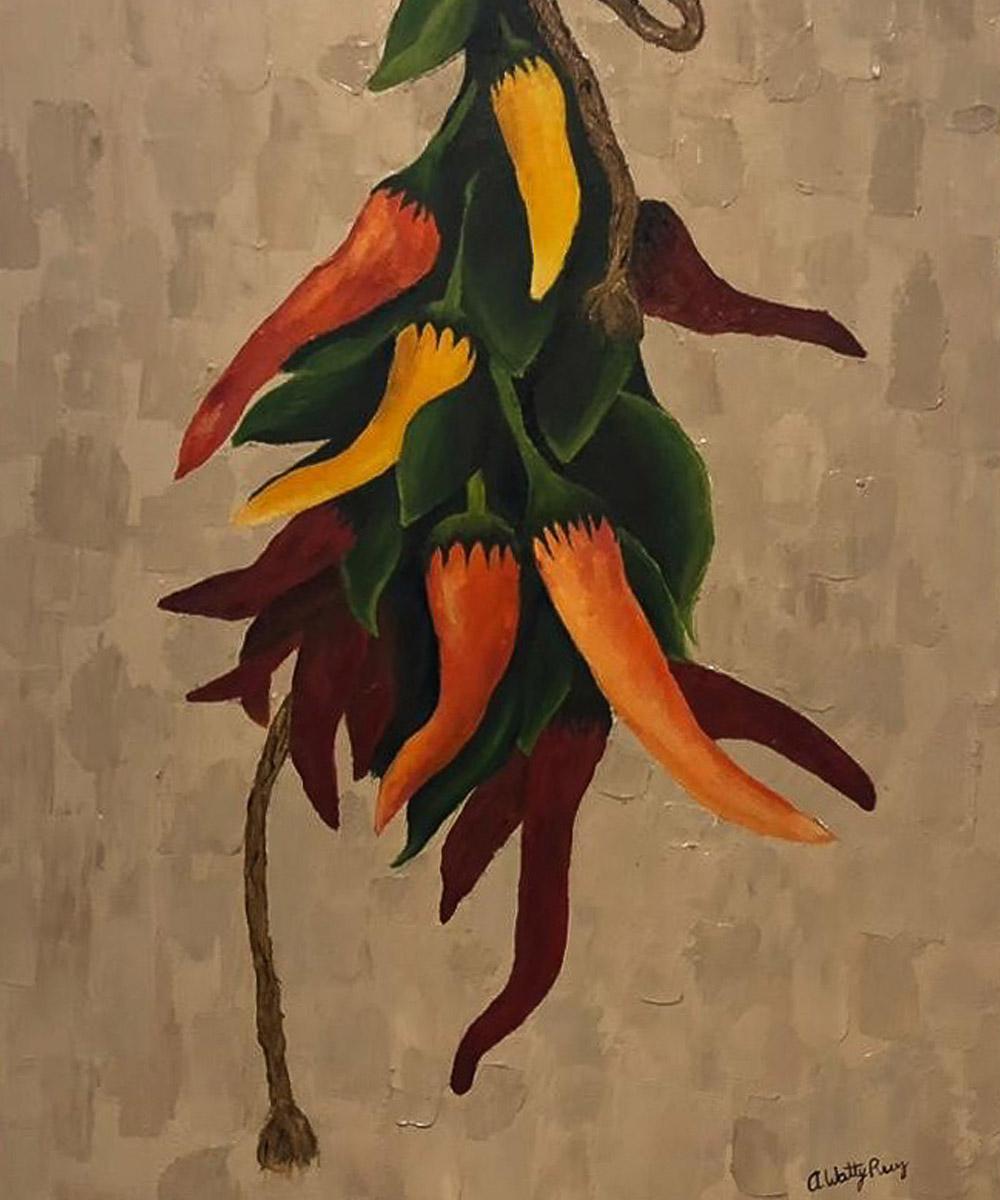 Andrea Watty Ruiz, Pintura