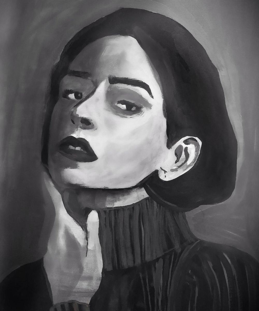 Montserrat Gutiérrez Morales, Pintura