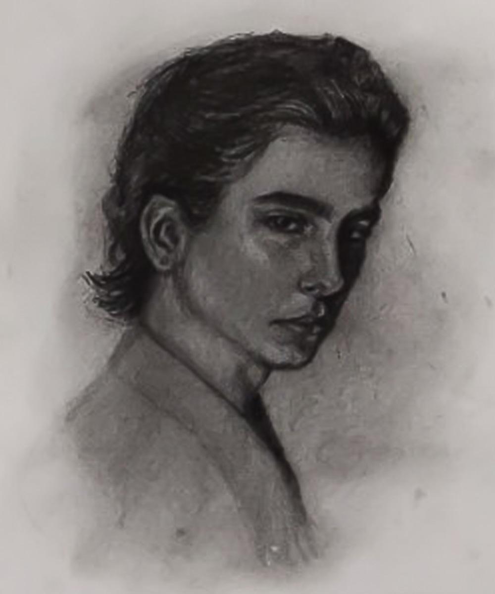 Angela Velásquez García de los Salmones, Dibujo