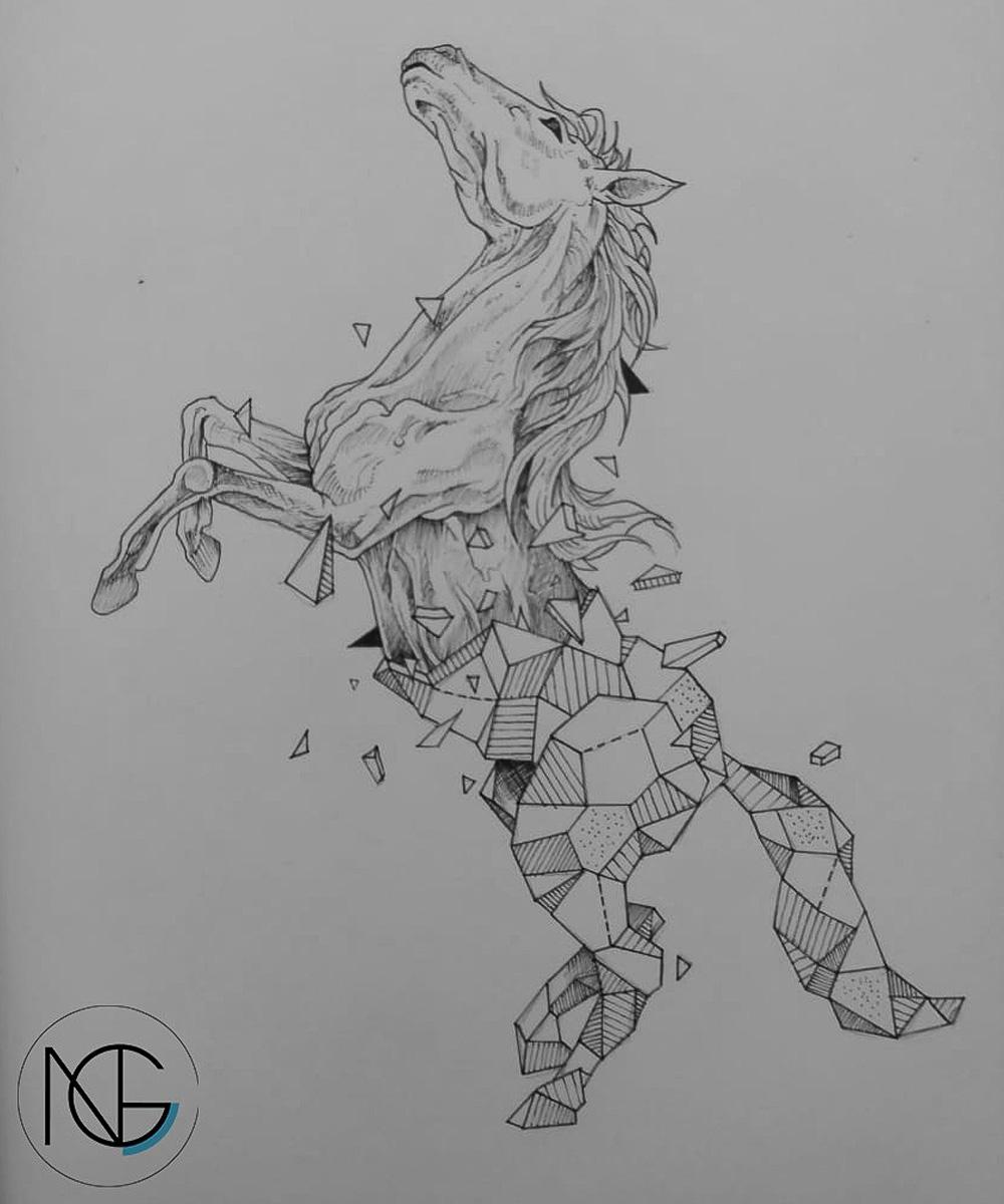 Edson Giovany Romero Nicanor, Dibujo
