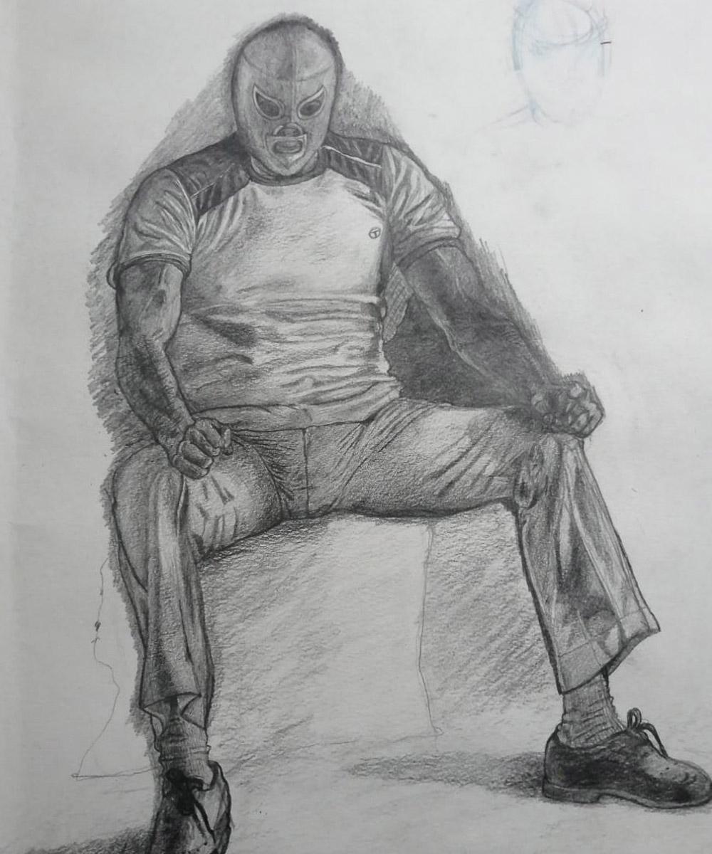 Luis Emilio Abadie Hernández, Dibujo