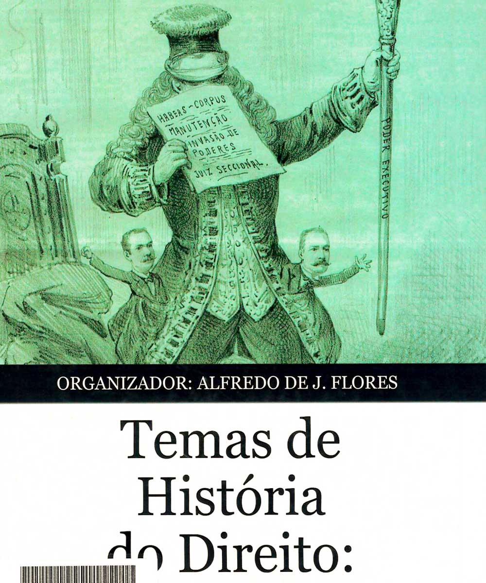 5 / 6 - KHD292 T45 2015 Temas de História do Direito - INSTITUTO HISTÓRICO E GEOGRÁFICO DO RIO GRANDE DO SUL, Brasil 2015