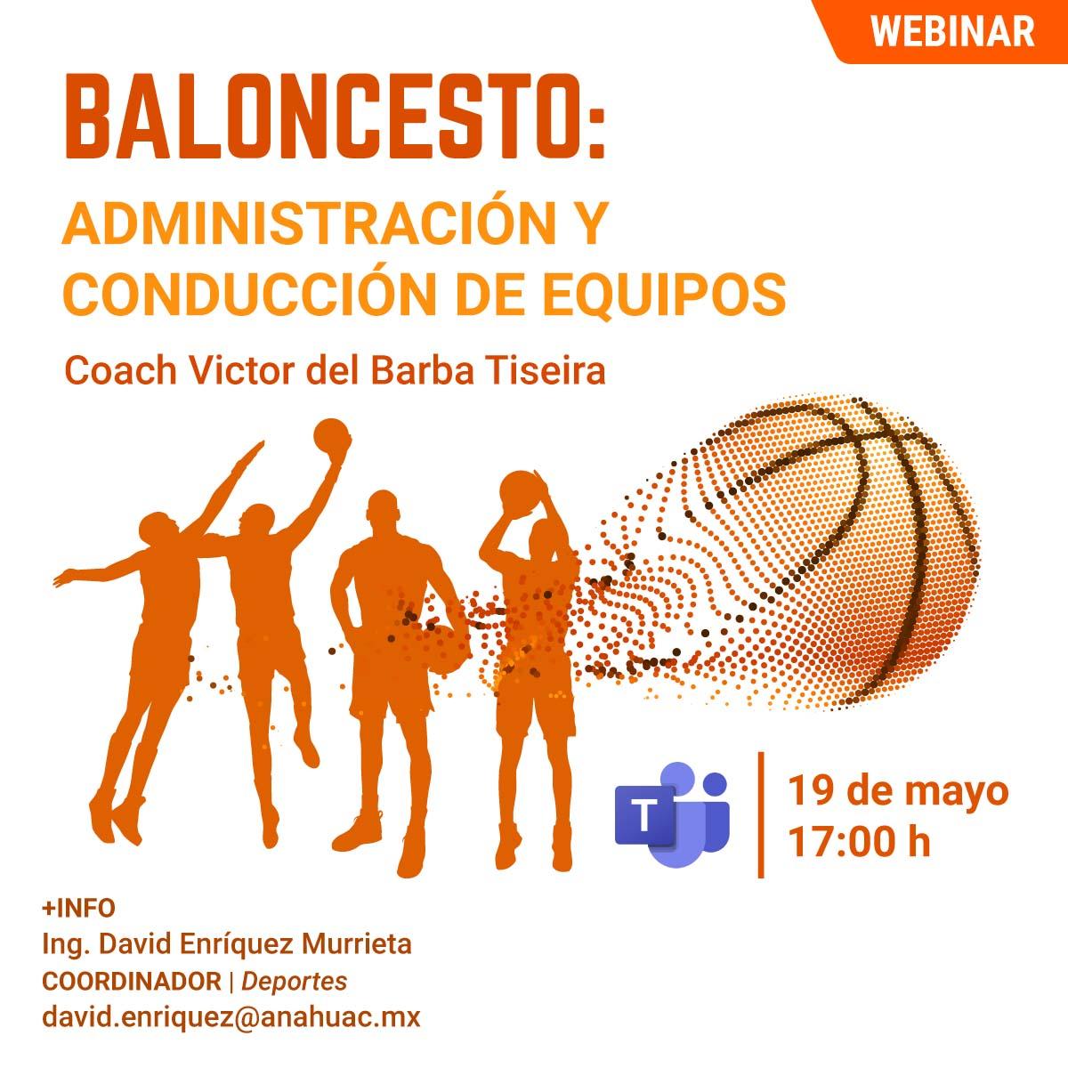 Baloncesto: Administración y Conducción de Equipos