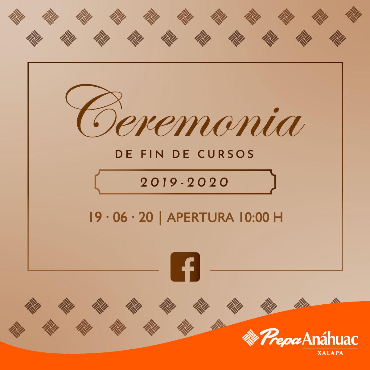 Ceremonia de Fin de Cursos 2019-2020