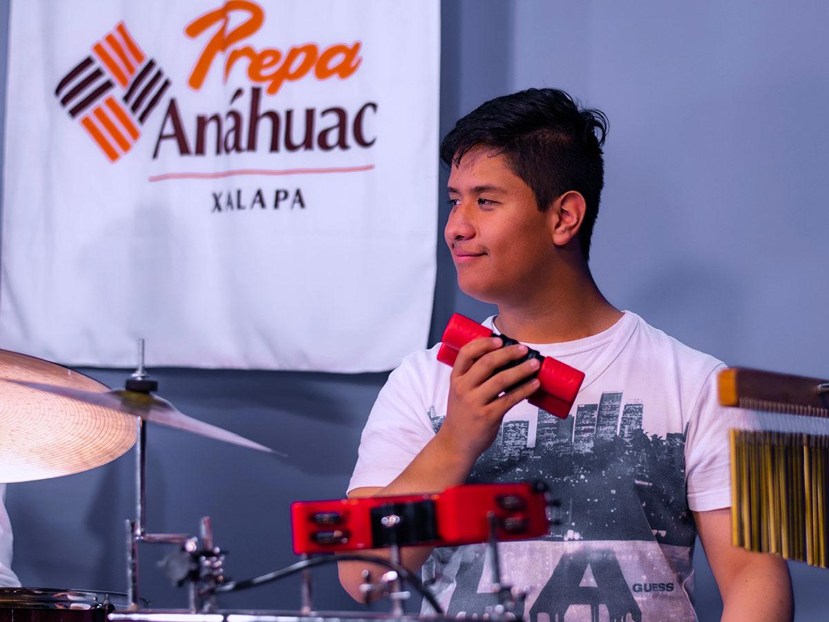 7 / 11 - Prepa Anáhuac Xalapa Obtiene el 2do Lugar en Interpretación y Composición Musical en el PIBA