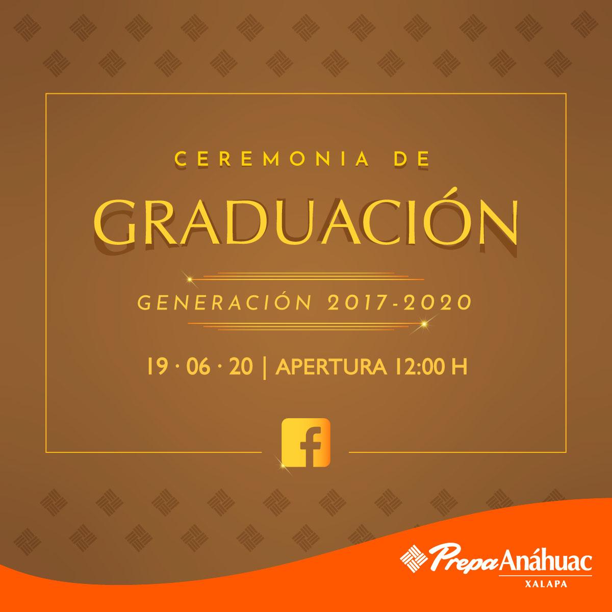 Ceremonia de Graduación de la Generación 2017-2020