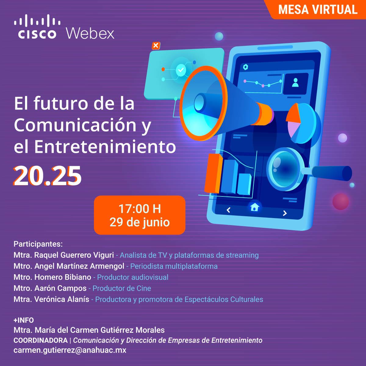 El Futuro de la Comunicación y el Entretenimiento 20.25