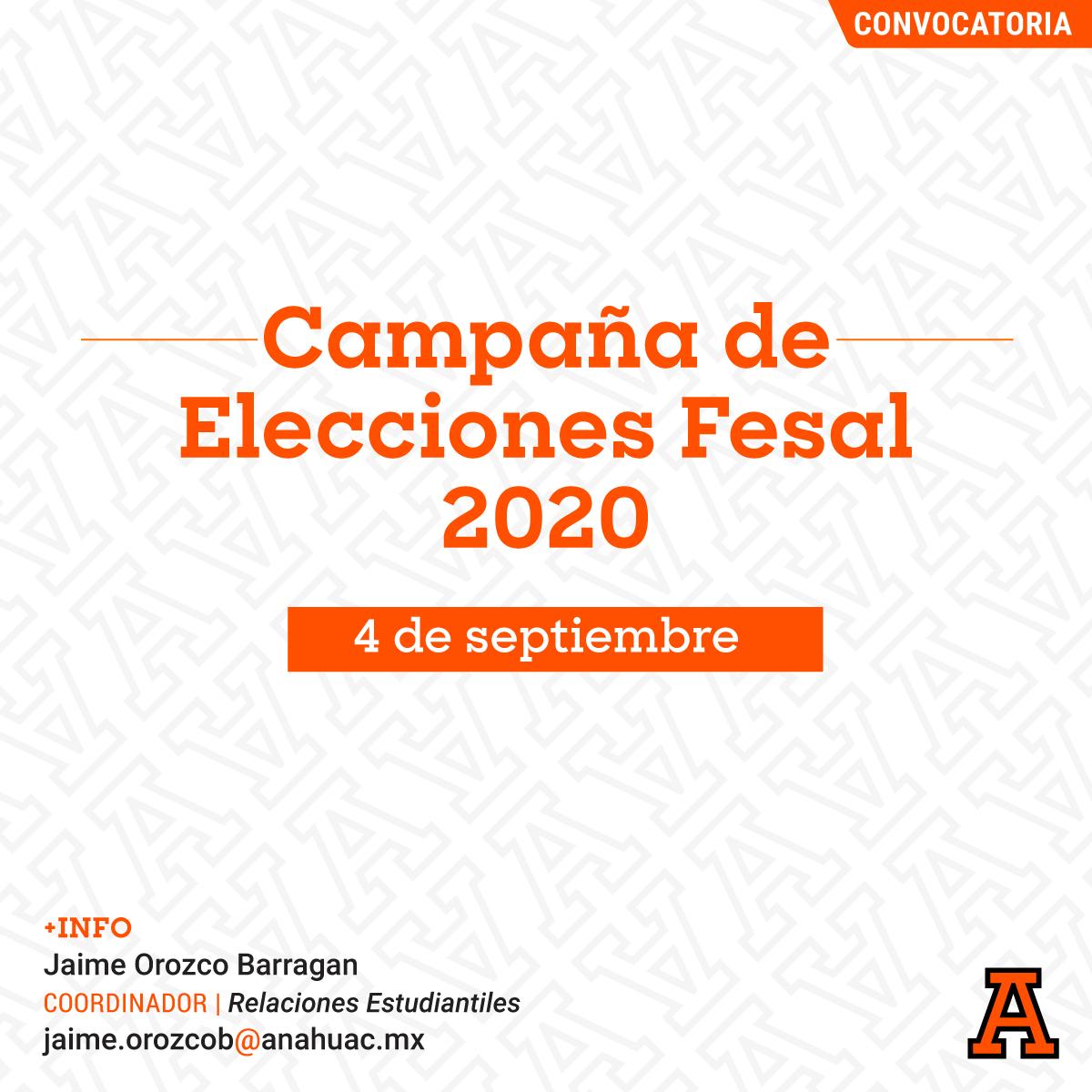 Campaña de Elecciones FESAL