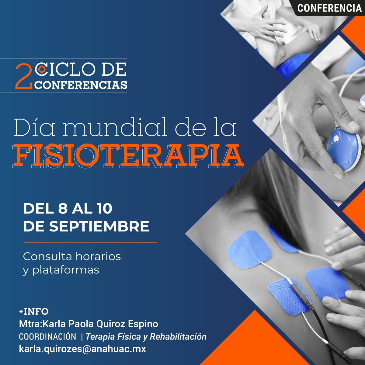2° Ciclo de Conferencias Día Mundial de la Fisioterapia