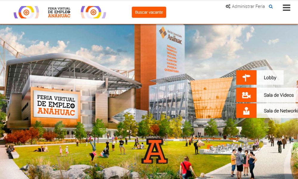 1 / 5 - La Red de Universidades Anáhuac Celebró la Feria Virtual de Empleo 2020
