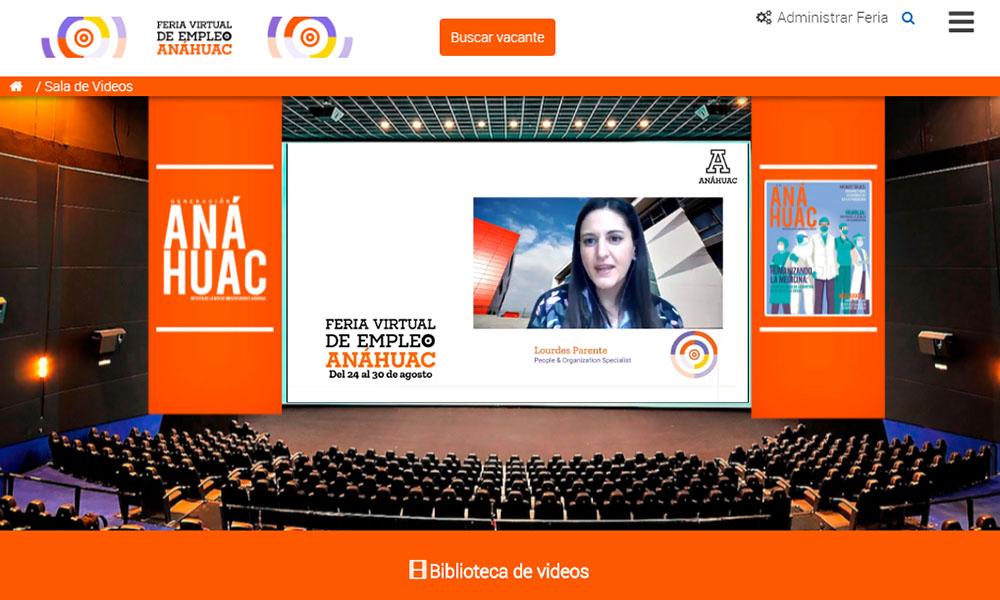 2 / 5 - La Red de Universidades Anáhuac Celebró la Feria Virtual de Empleo 2020
