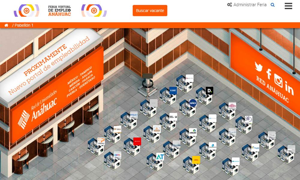 4 / 5 - La Red de Universidades Anáhuac Celebró la Feria Virtual de Empleo 2020