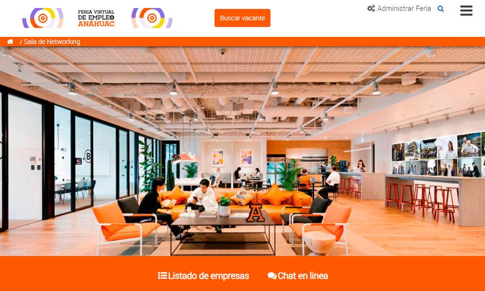 5 / 5 - La Red de Universidades Anáhuac Celebró la Feria Virtual de Empleo 2020