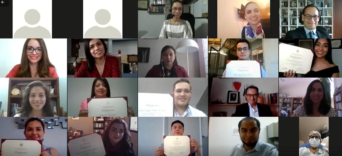 1 / 3 - Finalizan con Éxito el Diplomado en Gestión del Talento Humano y el Diplomado en Derechos Humanos