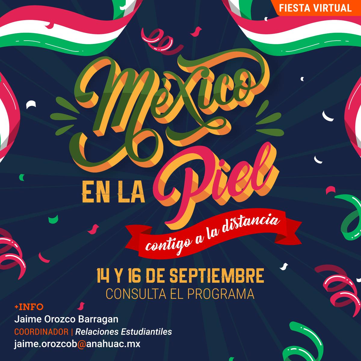Fiestas Patrias: México en la Piel