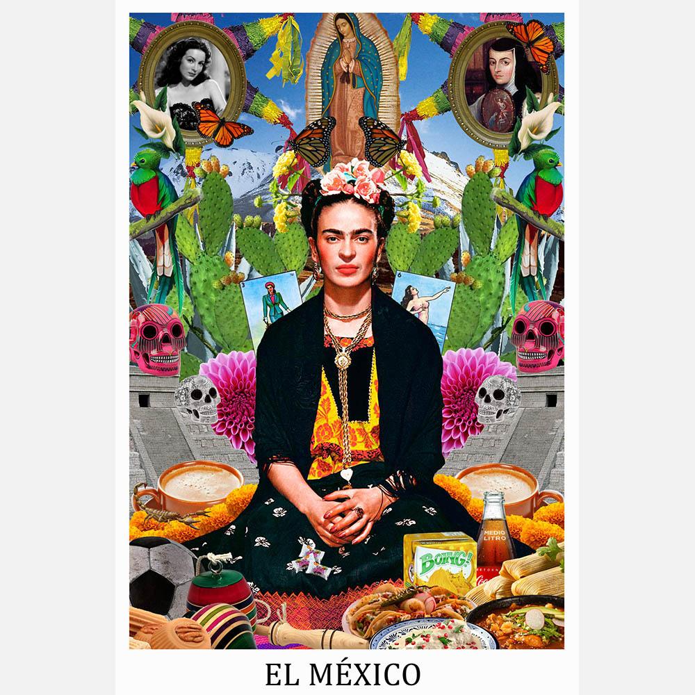 2 / 7 - Identidad Mexicana: Muestra de Fotografía y Dibujo