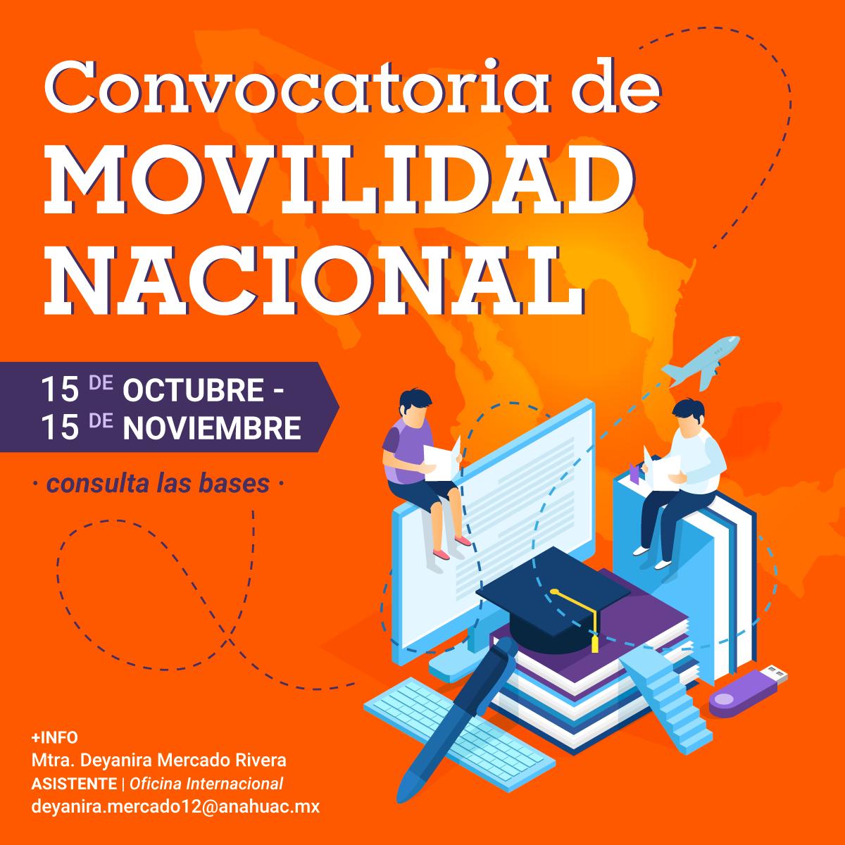 Convocatoria de Movilidad Nacional 2021