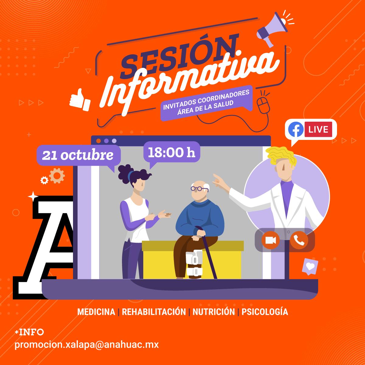 Sesión Informativa para Ciencias de la Salud