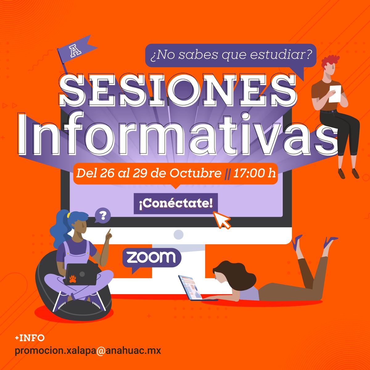 Sesiones Informativas para Nuevo Ingreso