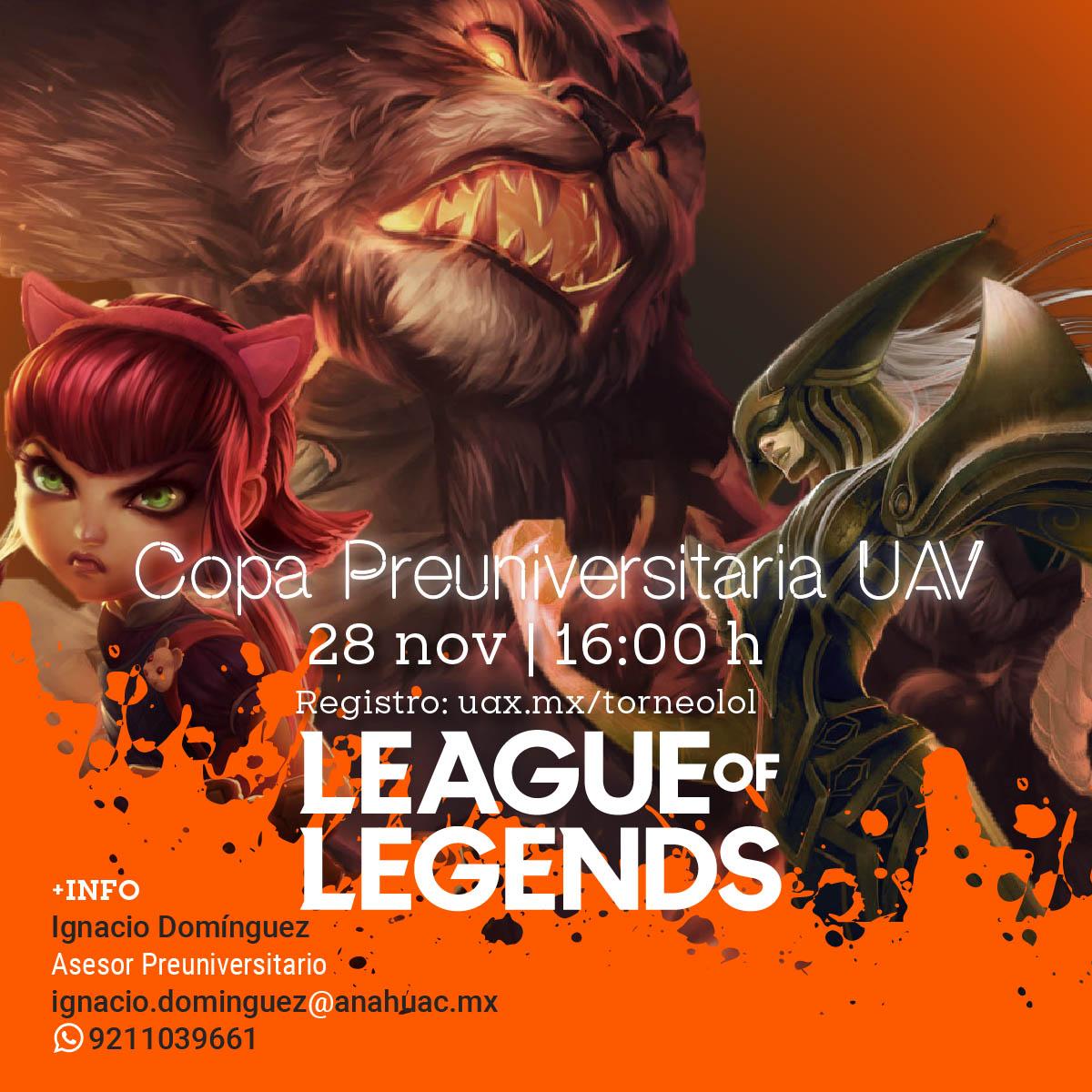Copa Preuniversitaria UAV League of Legends