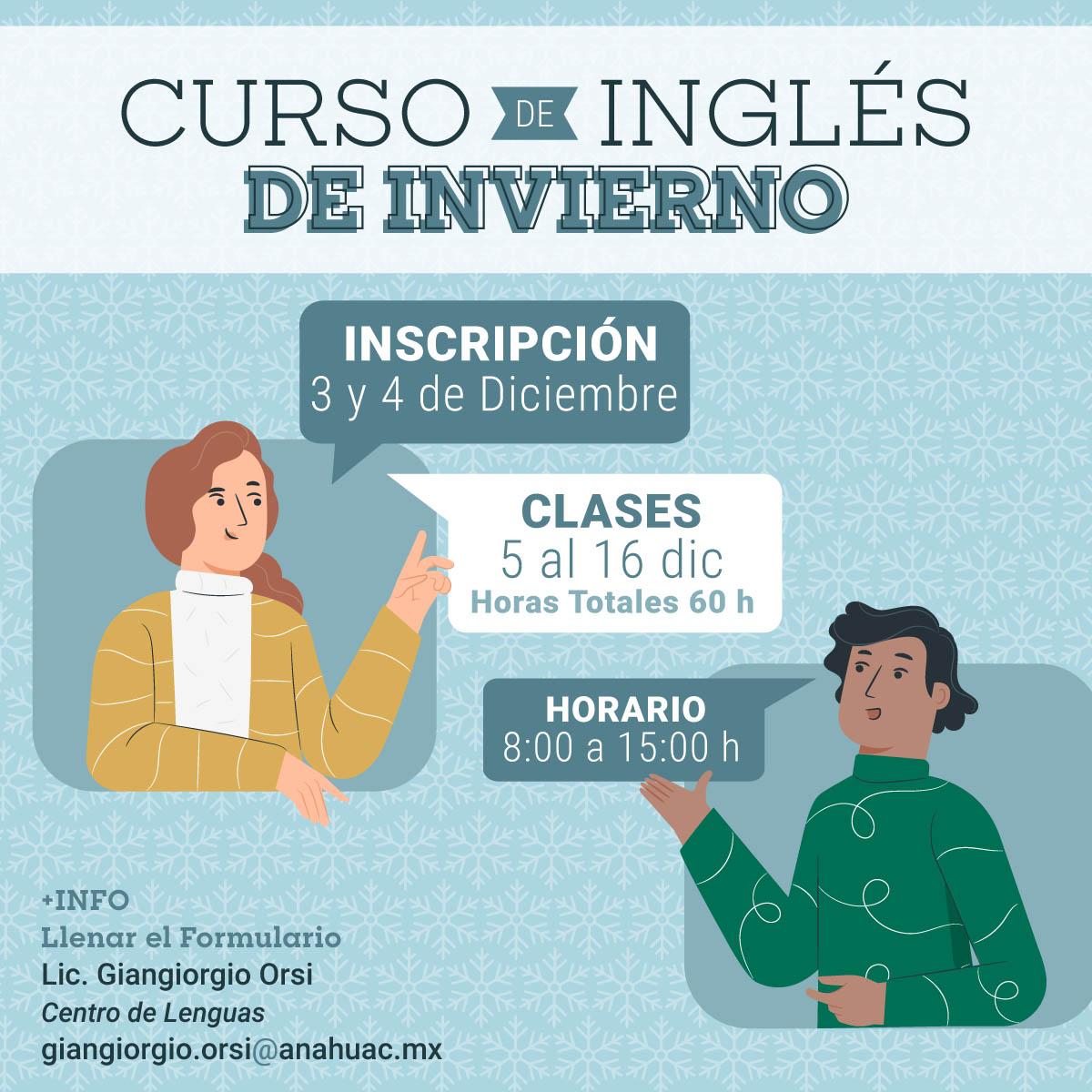 Curso de Inglés de Invierno