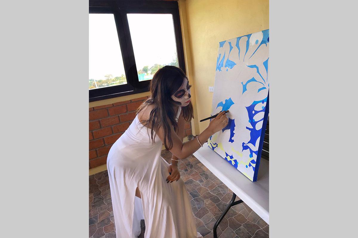 Taller de Pintura - Alexandra Mora