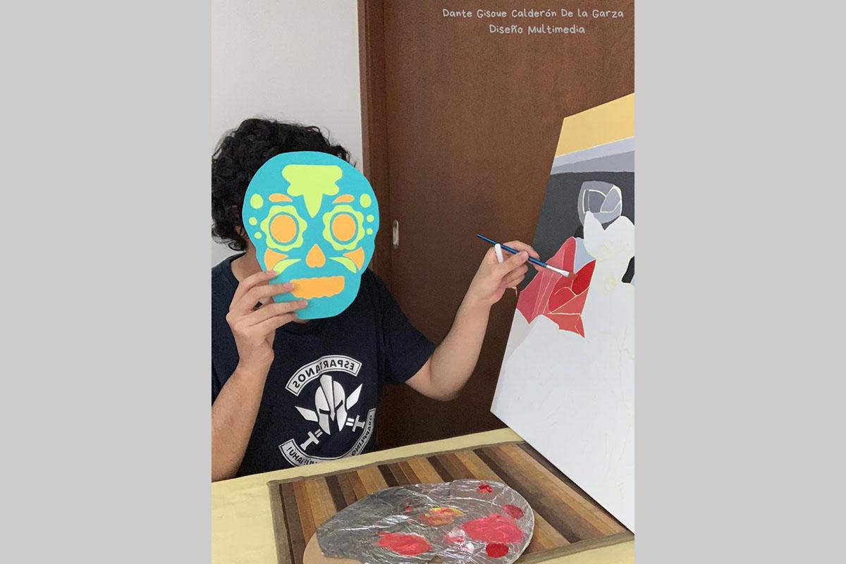 Taller de Pintura - Dante Gisoue Calderón de la Garza